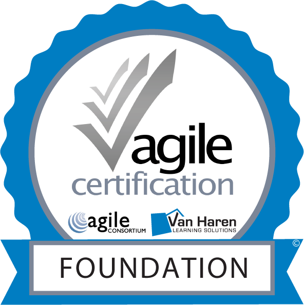 Agile Certification Foundation Badge- Maurits